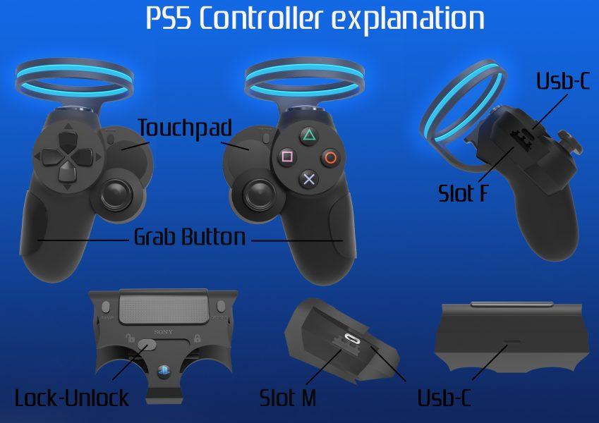 Playstation 5 Manette DualShock 5 SONY FICHE TECHNIQUE