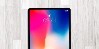 iPad X concept tablette Apple iPhone X Face ID