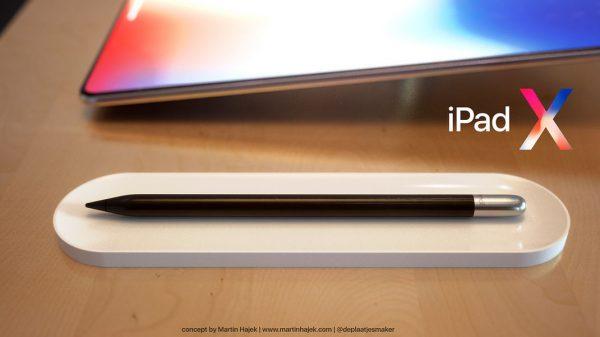 iPad X iPad Pro 2018 Face ID Apple Pencil 2