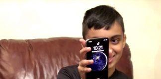 iPhone X Face ID Apple enfant 10 ans