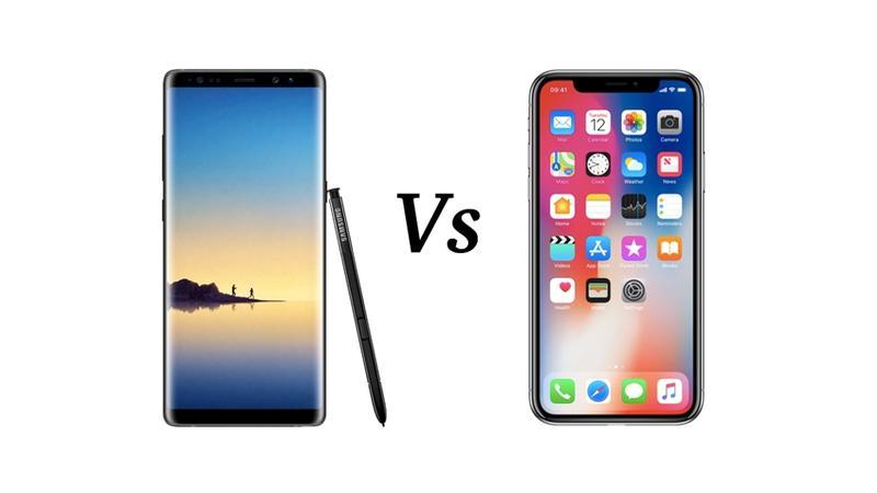 iPhone X vs Galaxy Note 8 benchmark vidéo Samsung Galaxy S9