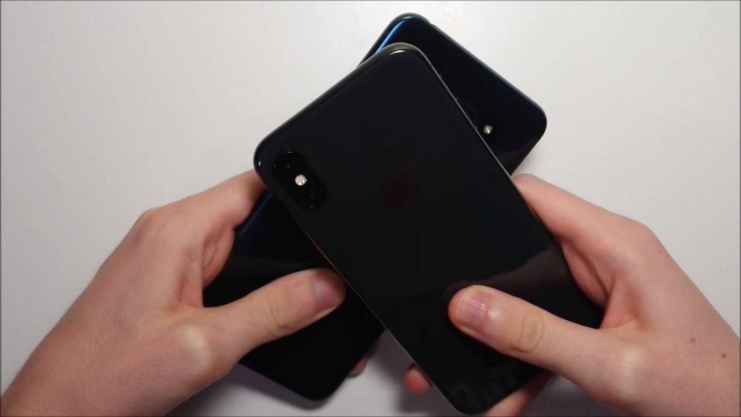 iPhone X vs LG V30