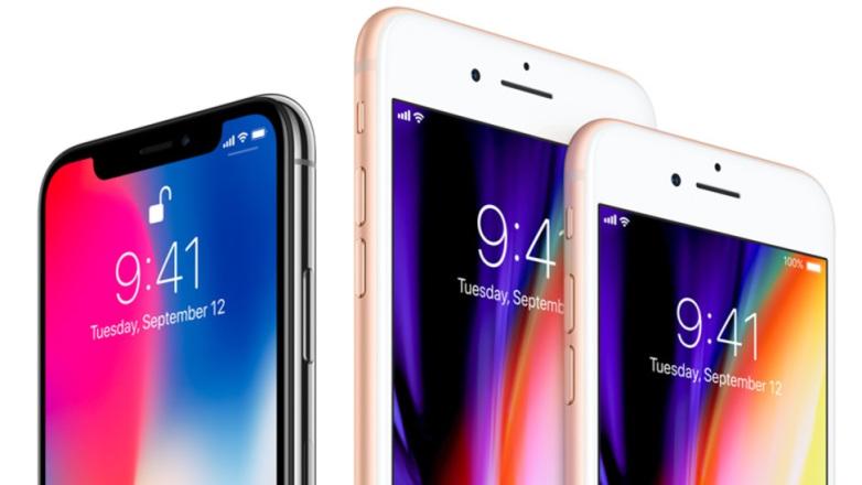 iPhone X iPhone 8 Plus et iPhone 8