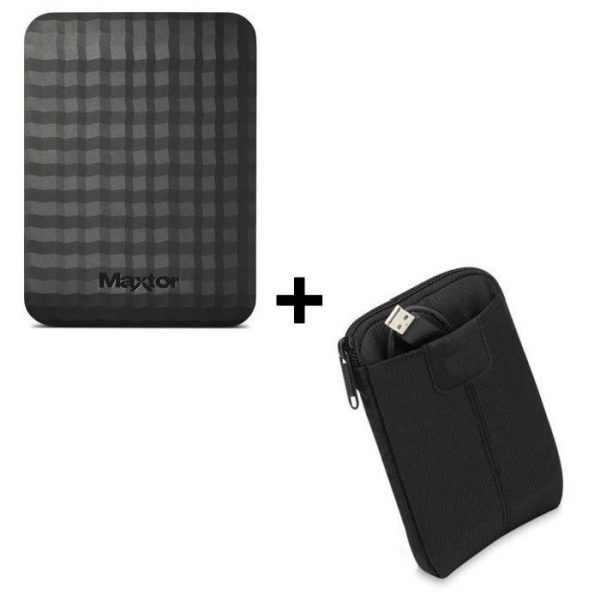 Pack Maxtor disque dur externe 1 To