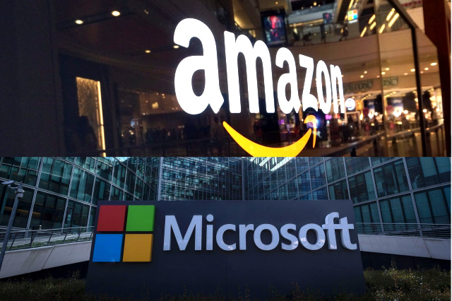 Amazon et Microsoft