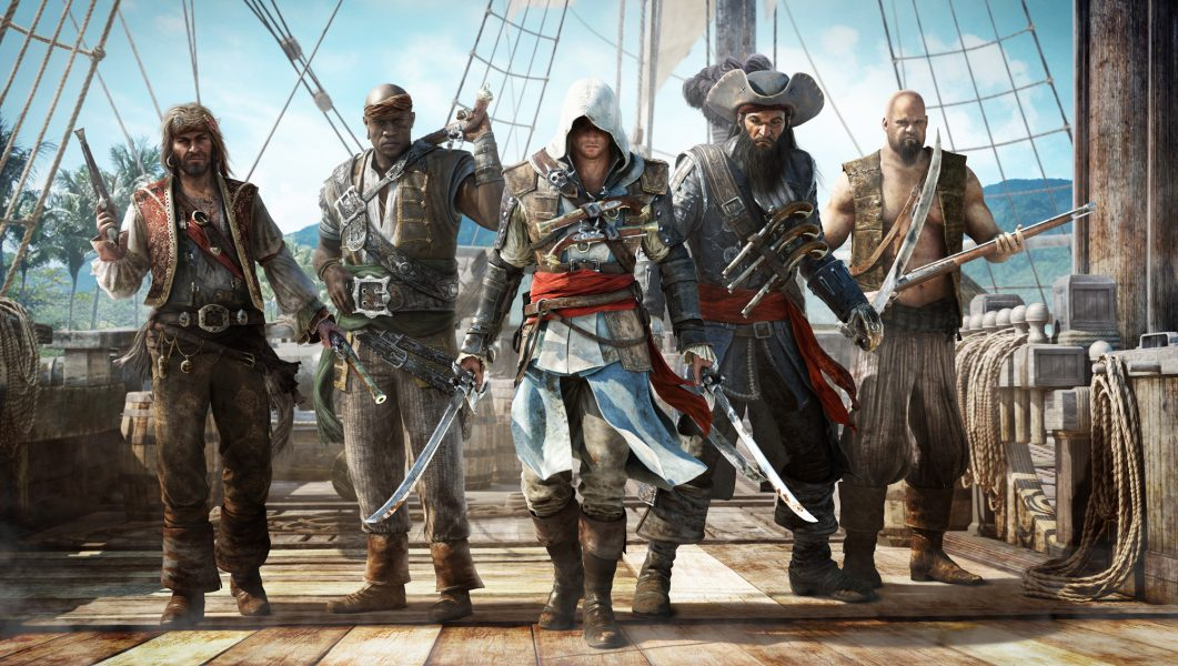 Assassin's Creed Black Flag Ubisoft jeu video