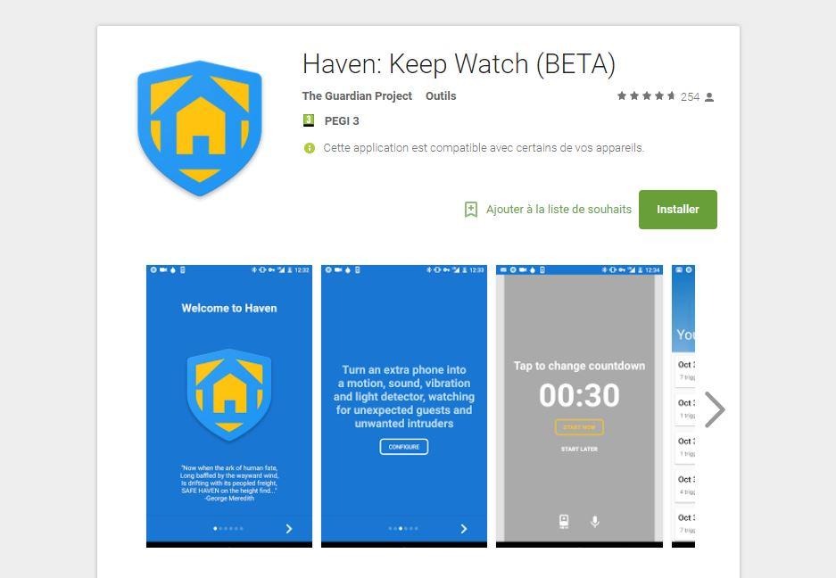 Edward Snowden lance Haven, une application Android de sécurité