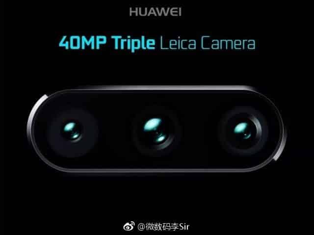Huawei P11 triple caméra encoche iPhone X