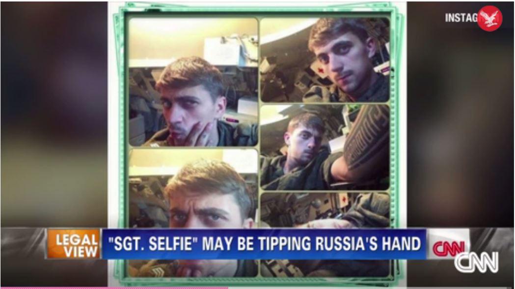 Instagram selfie russe