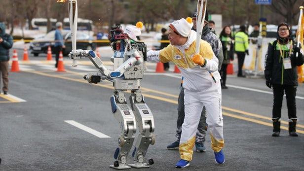 Robot Jeux Olympiques JO
