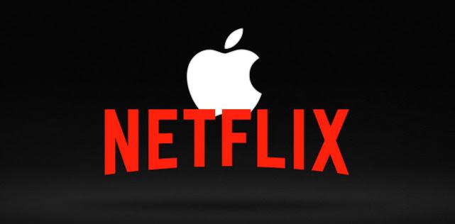 Apple rachète Netflix