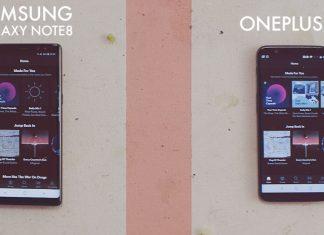 Samsung Galaxy Note 8 vs OnePlus 5T