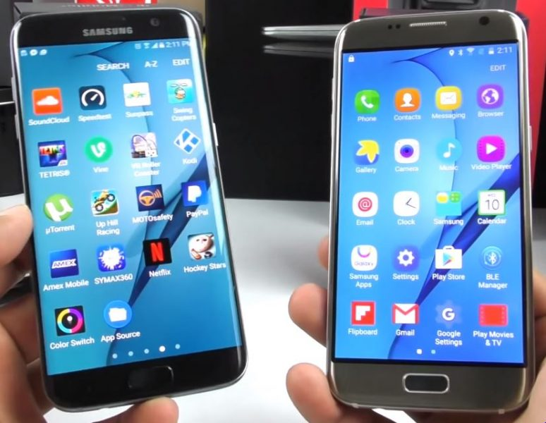 Samsung Galaxy S7 Edge clones