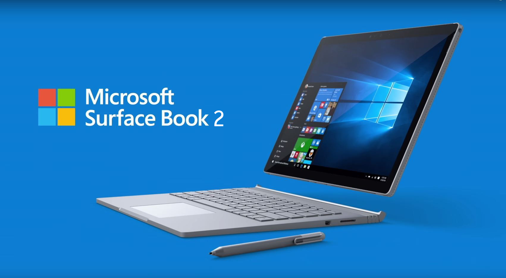 Le Surface Book 2 avec écran de 15 pouces arrive en France