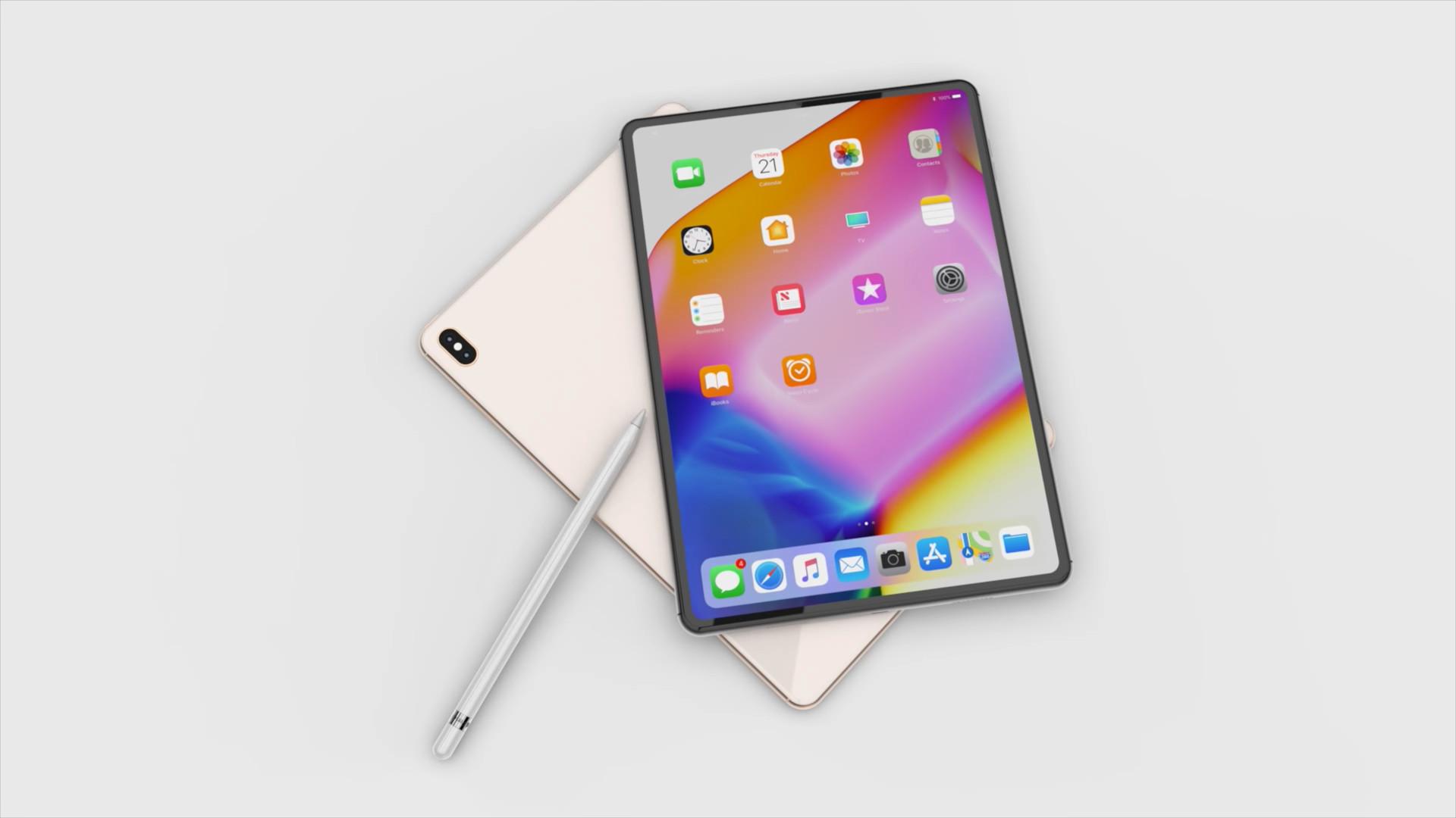 Ipad Pro 2018 Apple S Inspirerait Du Design De L Iphone X Ere