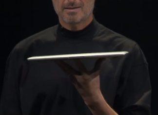 Apple Steve Jobs MacBook Air