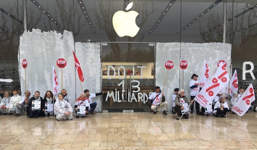 Apple ne peut pas interdire l'entrée de ses magasins à Attac