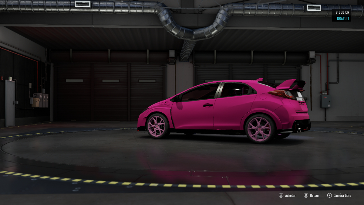 Forza Motorsport 7 - pink car