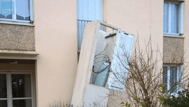 Free Mobile antenne chute