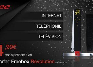 Freebox Revolution : profitez de l'offre à 4,99 euros par mois jusqu'au 25 février