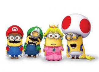 Mario de retour au cinéma avec le studio des Minions