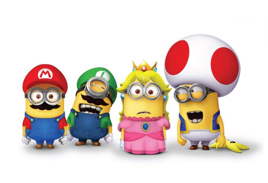 Mario et les Minions ? Nintendo annonce un film par le studio Illumination !