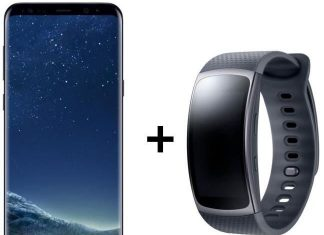 Samsung Galaxy S8+ Gear Fit 2