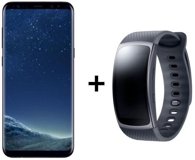 Bon plan : Samsung Galaxy S8+ et Gear Fit 2 à 799 euros sur Cdiscount !