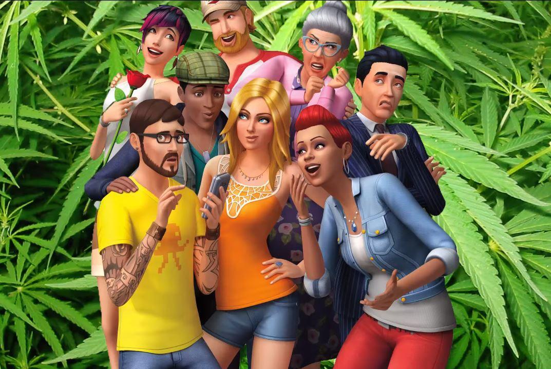 Sims 4 : fumez du cannabis grâce au mod