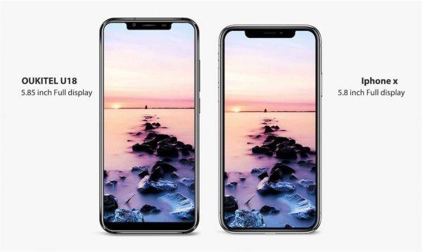 Oukitel U18 : l'un des clones les plus convaincants de l'iPhone X