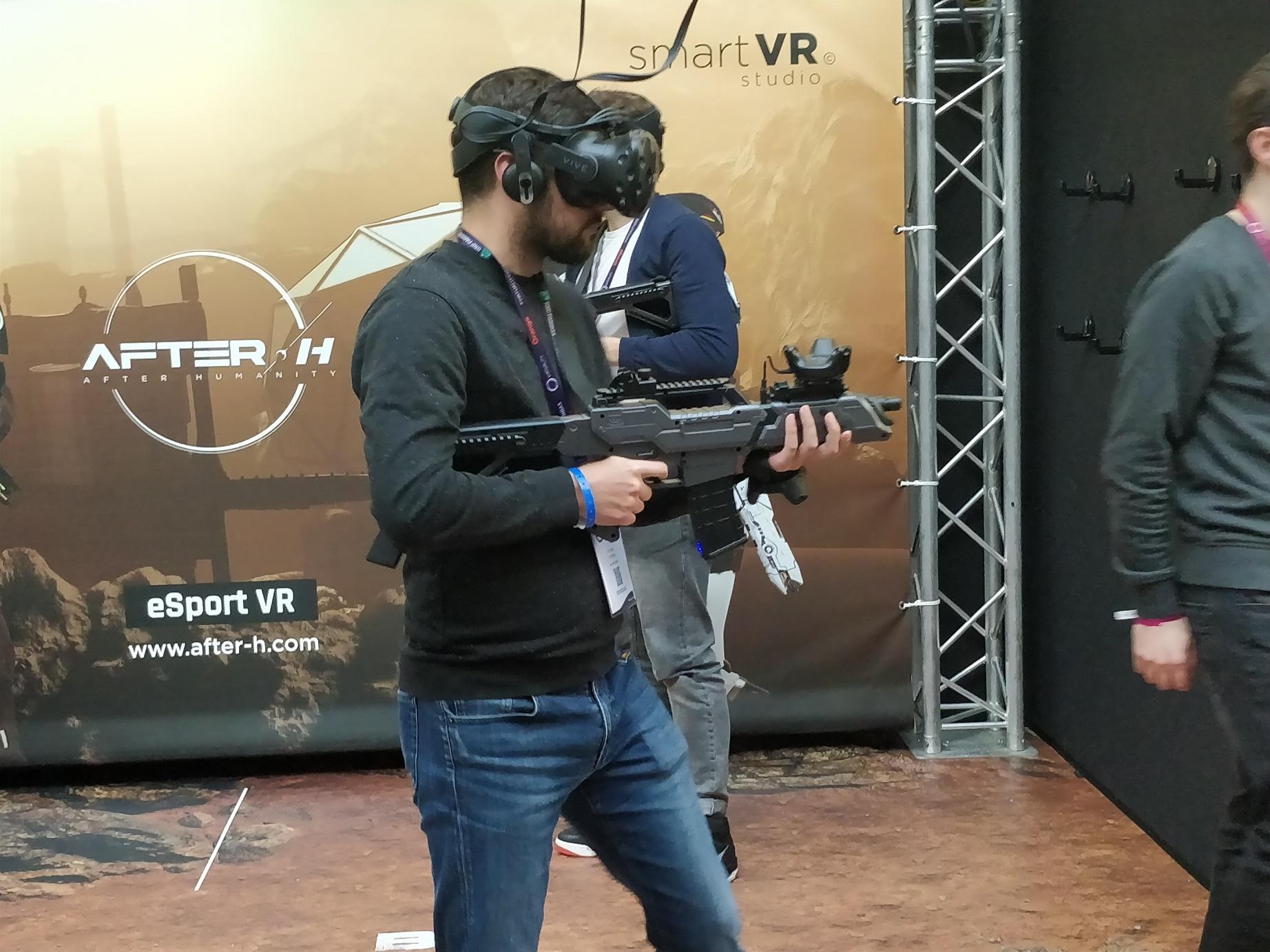 Virtuality 2018 : des technologies toujours plus immersives