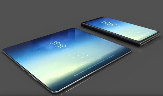 Galaxy X : Samsung devrait sortir son smartphone pliable en 2018