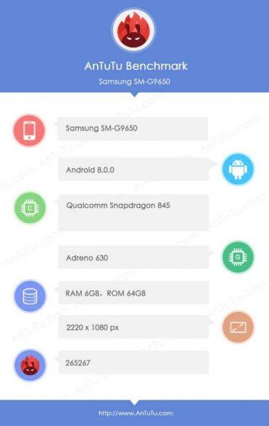 Samsung Galaxy S9 et S9+ : trois vidéos et un benchmark AnTuTu dévoilent toutes leurs caractéristiques !