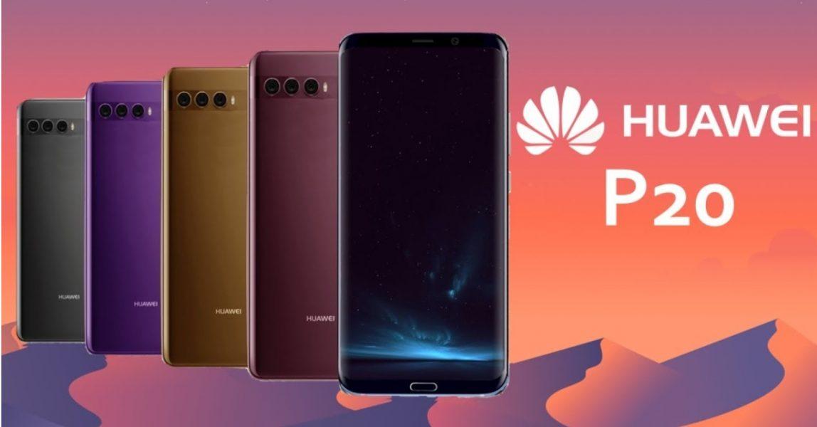 Un Huawei P20 sans encoche : est-ce possible ?