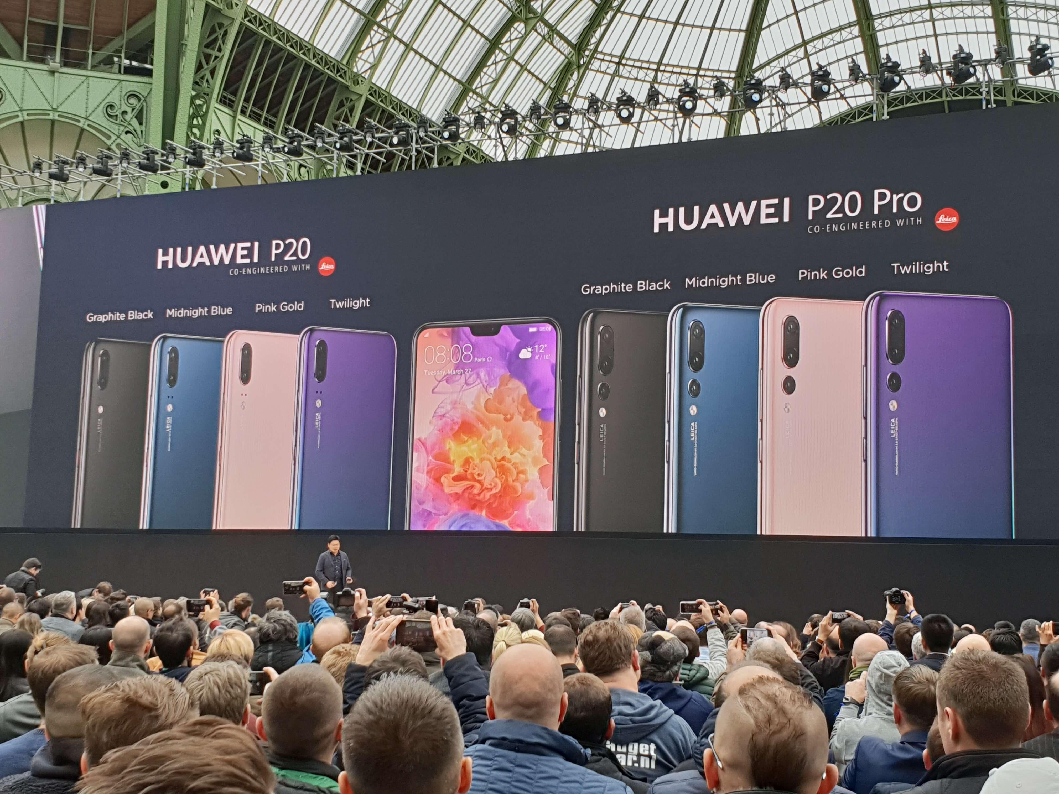 [ Prise en main ] Les Huawei P20 et P20 Pro rendent le S9 et l'iPhone X has-been