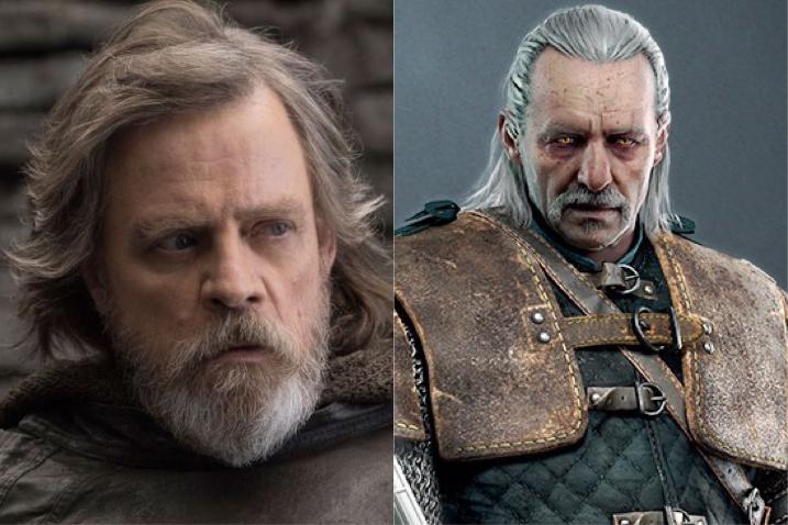 The Witcher : Mark Hamill de Star Wars veut jouer Vesemir dans la série Netflix