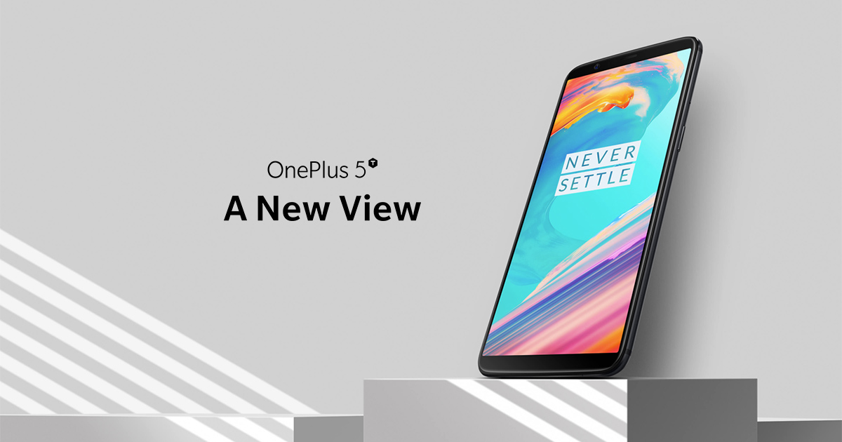 Profitez de l'OnePlus 5T jusqu'à épuisement de stock