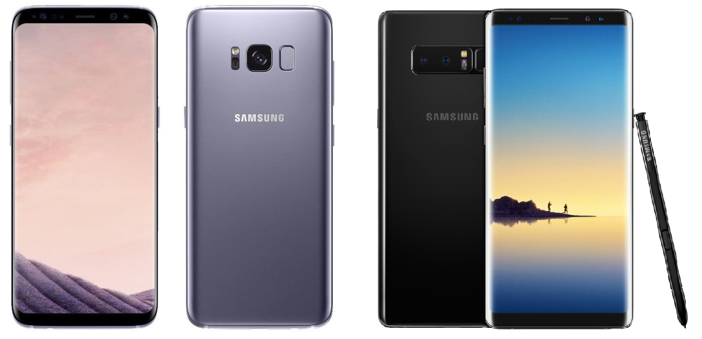 Bon plan : Samsung Galaxy S8 à 479.99 euros et Note 8 à 615.99 euros sur eBay