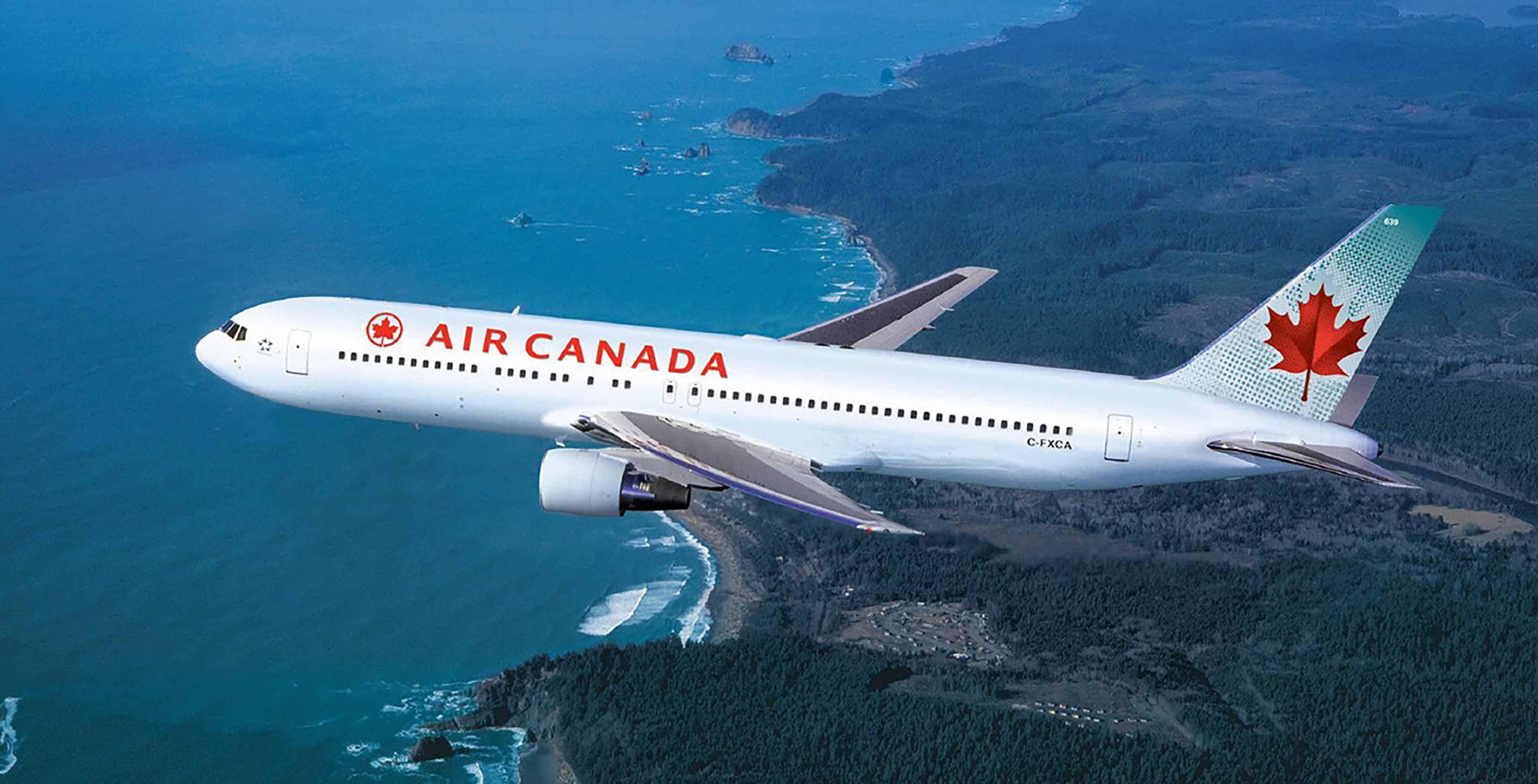 Un smartphone prend feu dans un avion d'Air Canada !