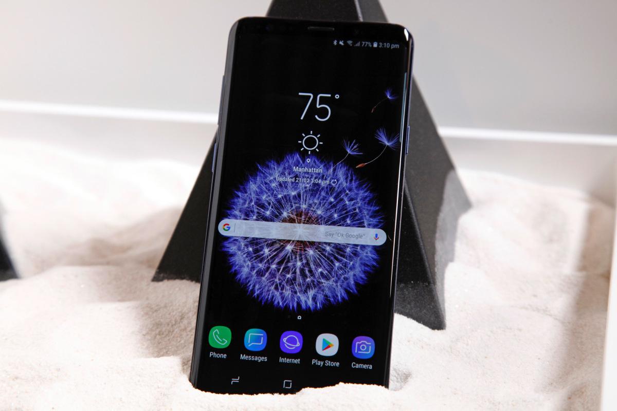 Samsung Galaxy S9 : déjà des écrans tactiles défectueux chez certains utilisateurs