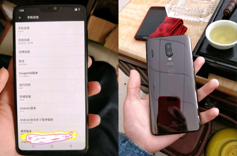 OnePlus 6 : un smartphone avec encoche comme l'iPhone X ?