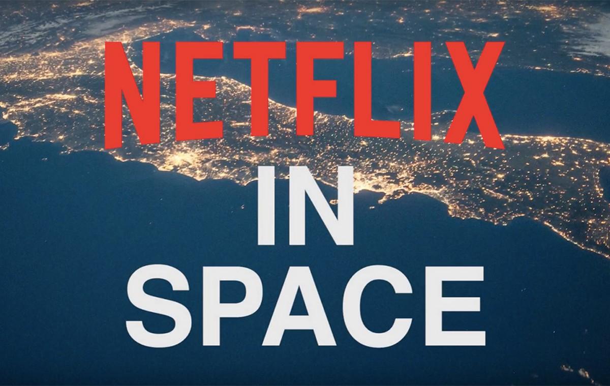 Netflix part à la conquête de l'espace... en envoyant un iPhone diffusant Star Trek