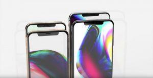 rendus iphone 2018 2 300x154 - iPhone 2018 : de nouveaux rendus 3D apparaissent !