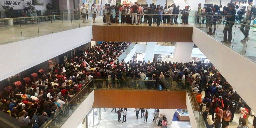 iPhone 5S à 50 dollars : 10 000 personnes devant les portes d'un revendeur Apple