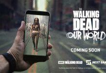 L'iPhone X utilisé pour développer le jeu en réalité augmenté The Walking Dead