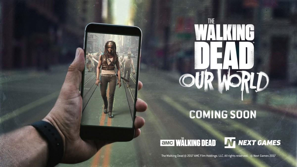 L' iPhone X utilisé pour développer le jeu en réalité augmenté The Walking Dead
