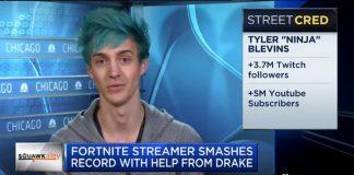 Fortnite : le streamer américain Ninja avoue gagner au moins 500 000 dollars par mois grâce à Twitch