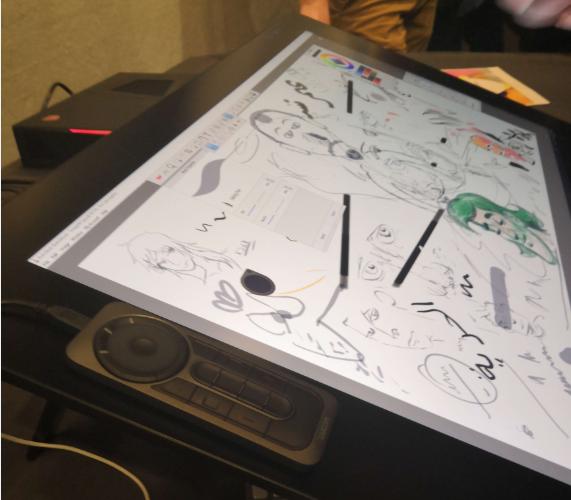 try - [ Prise en main ] Wacom Cintiq Pro : de nouveaux jouets pour les graphistes