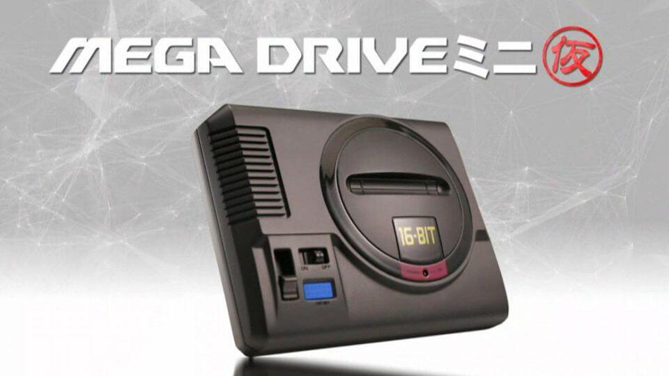 Megadrive Mini : Sega annonce le grand retour de la console pour 2018 !