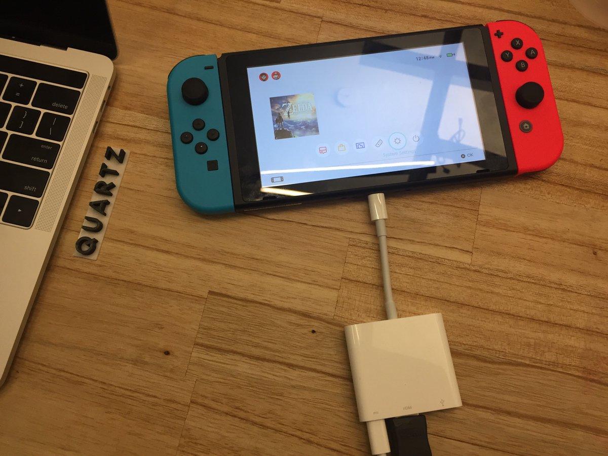 Nintendo Switch : vérifiez votre câble USB Type-C